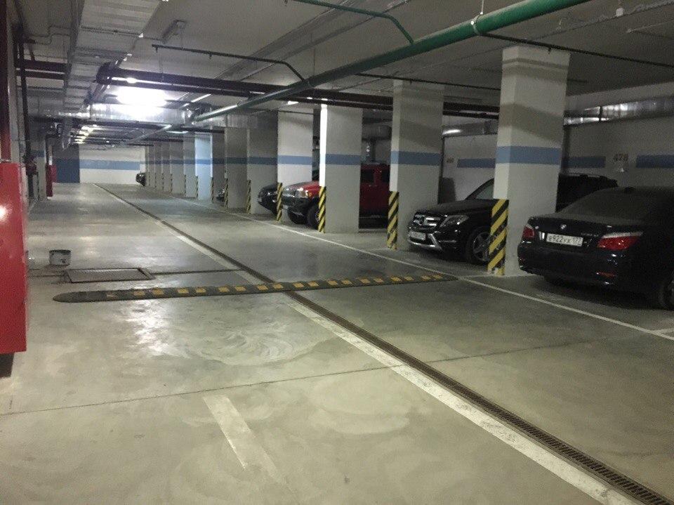 """Подземный паркинг ЖК """"Маршал"""""""