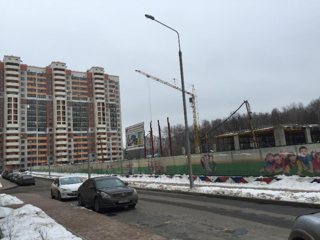 """Строительство школы в ЖК """"Ольгино Парк"""""""