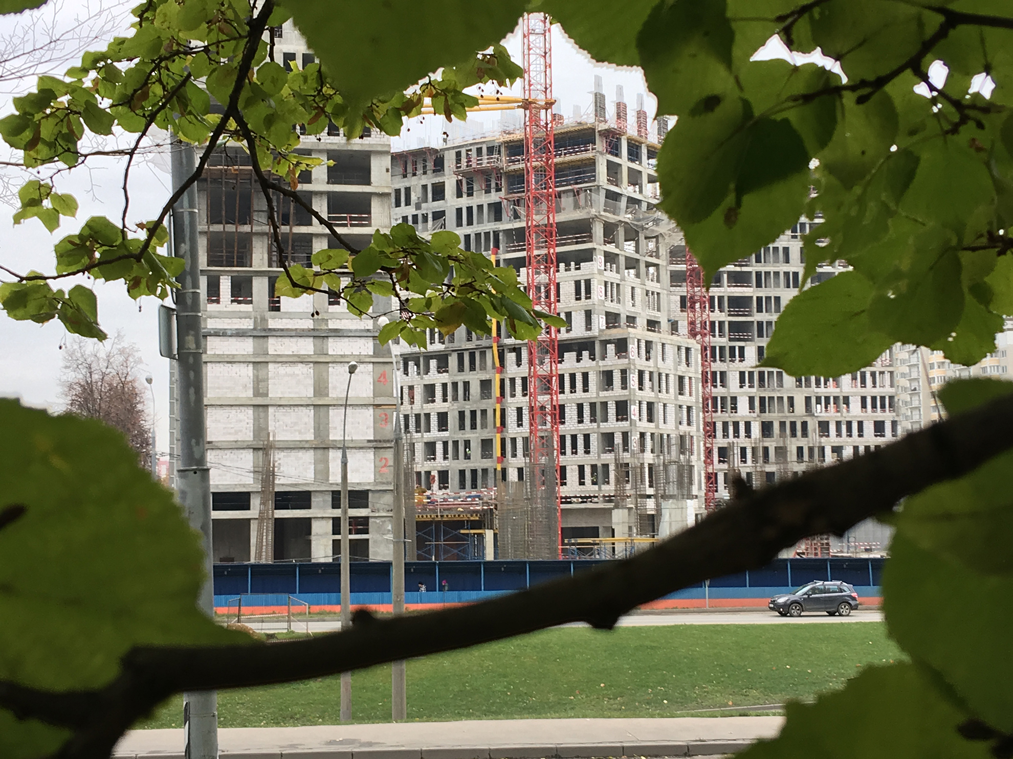 Ход строительства ЖК «Vander Park».