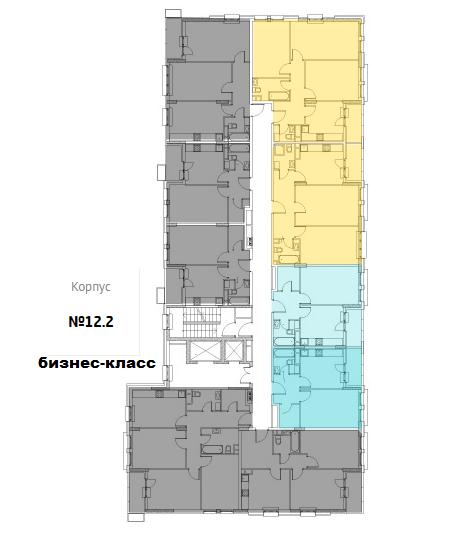 "план этажа ЖК ""Испанские кварталы"""