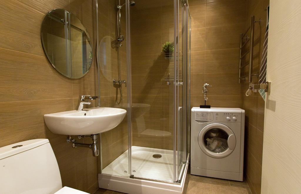 """Пример отделки ванной комнаты в ЖК """"Лайнер"""" от ГК """"Интеко"""""""