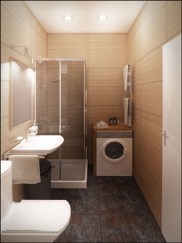"""Отделка ванной комнаты в ЖК """"Лайнер"""" от ГК """"Интеко"""""""