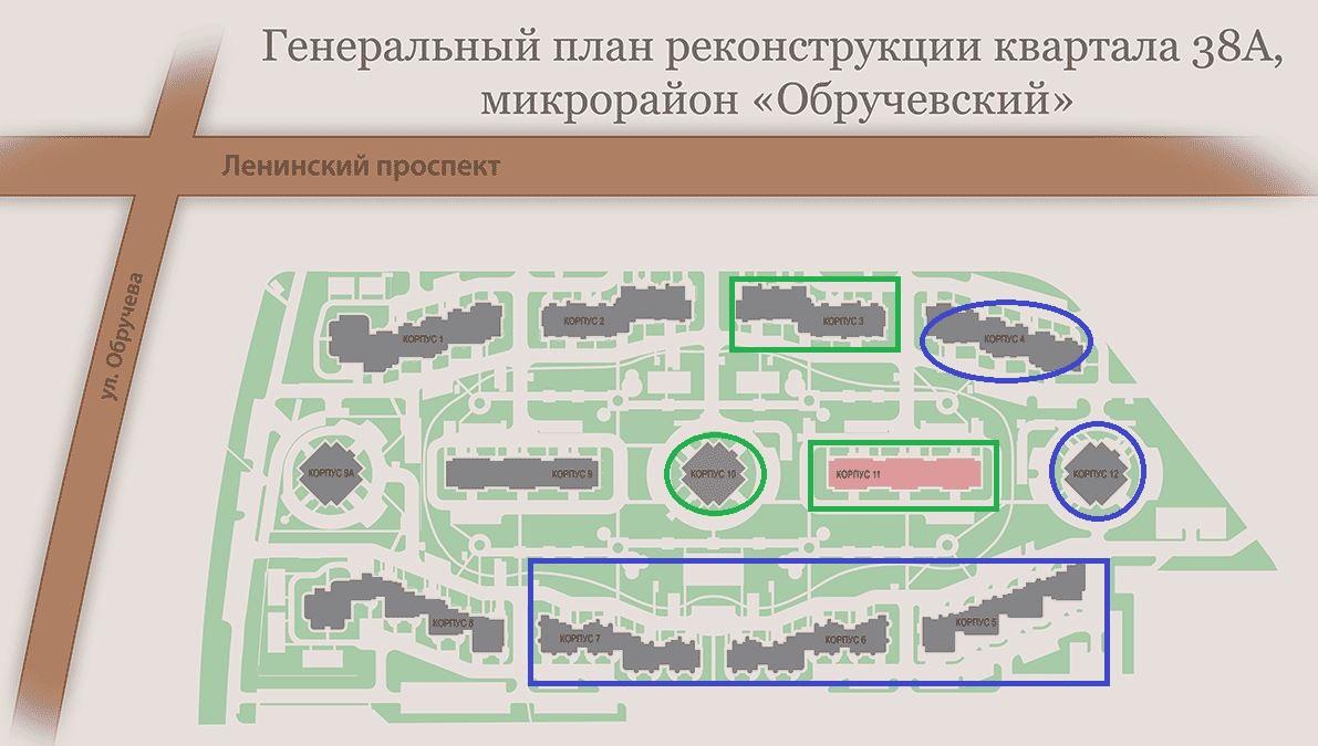 """генплан ЖК """"Квартал 38А"""""""