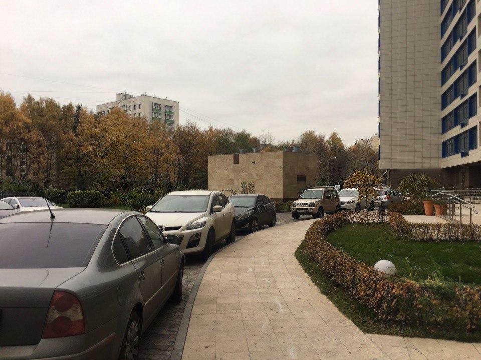 Наземная парковка ЖК Розмарин