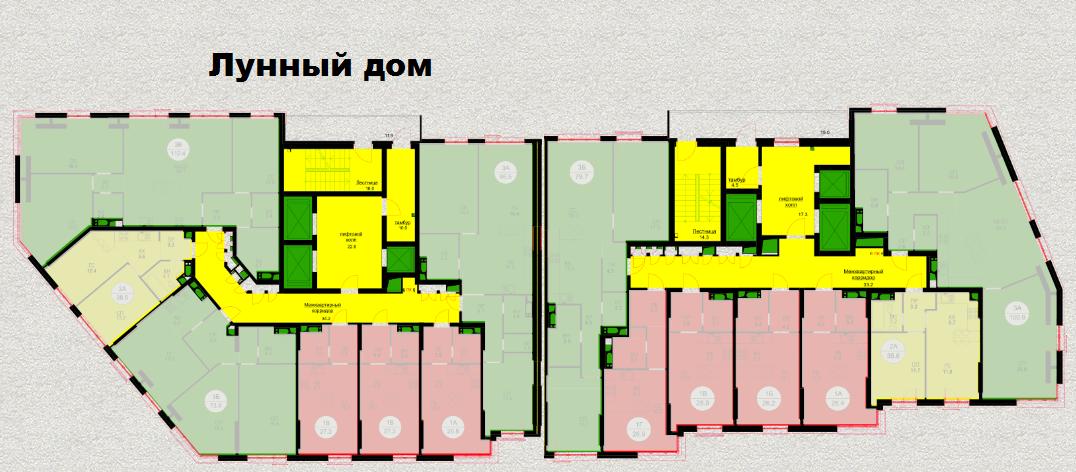 план этажа ЖК ART