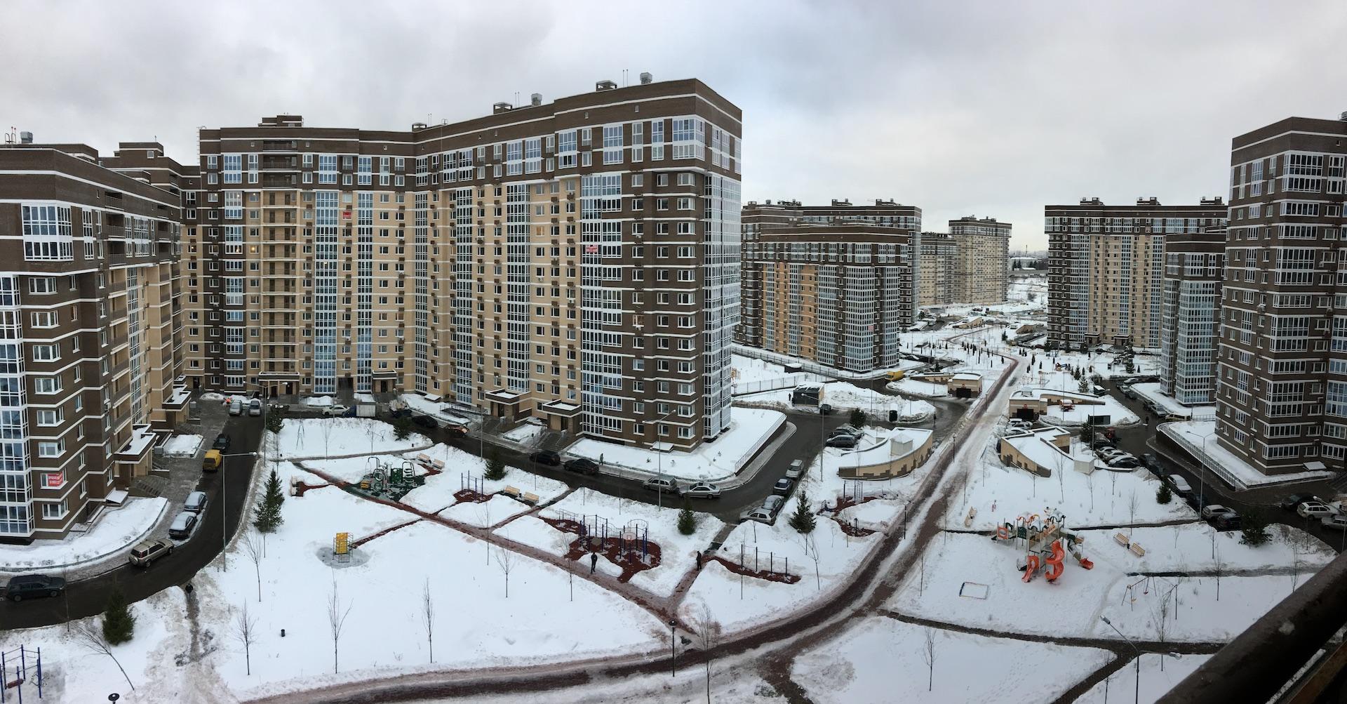 """Внутренняя территория ЖК """"Татьянин Парк"""""""
