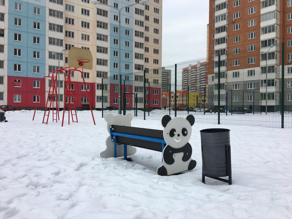 """Игровые площадки в ЖК """"Домодедово Парк"""""""