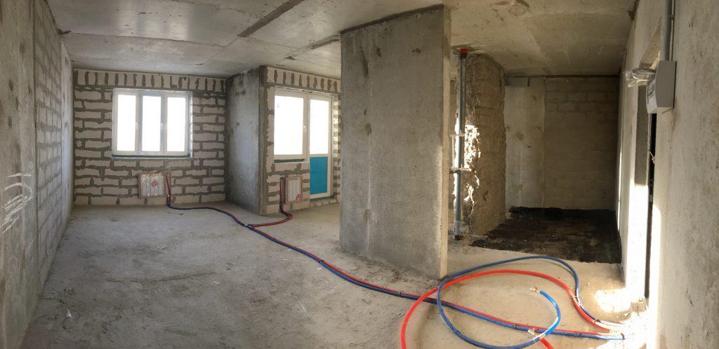 """Квартира без отделки в UP! Квартал """"Новое Тушино"""""""
