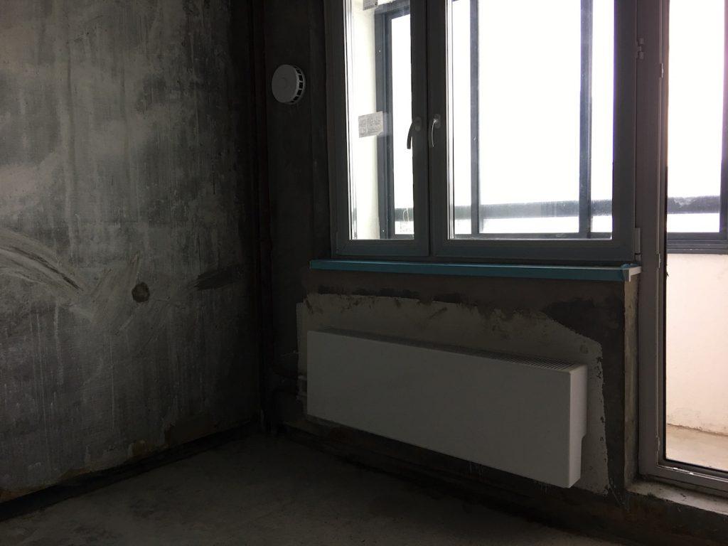"""Радиатор и система вентиляции в ЖК """"Кварталы 21/19"""""""