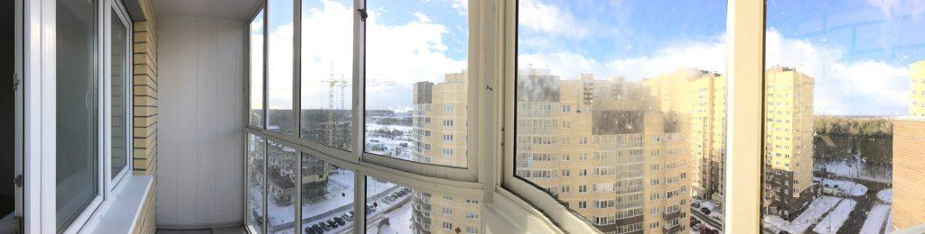 """Панорамное остекление балконов ЖК """"Полет"""""""