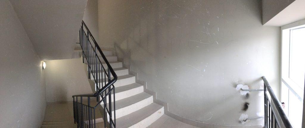 """Пожарная лестница ЖК """"Одинбург"""""""