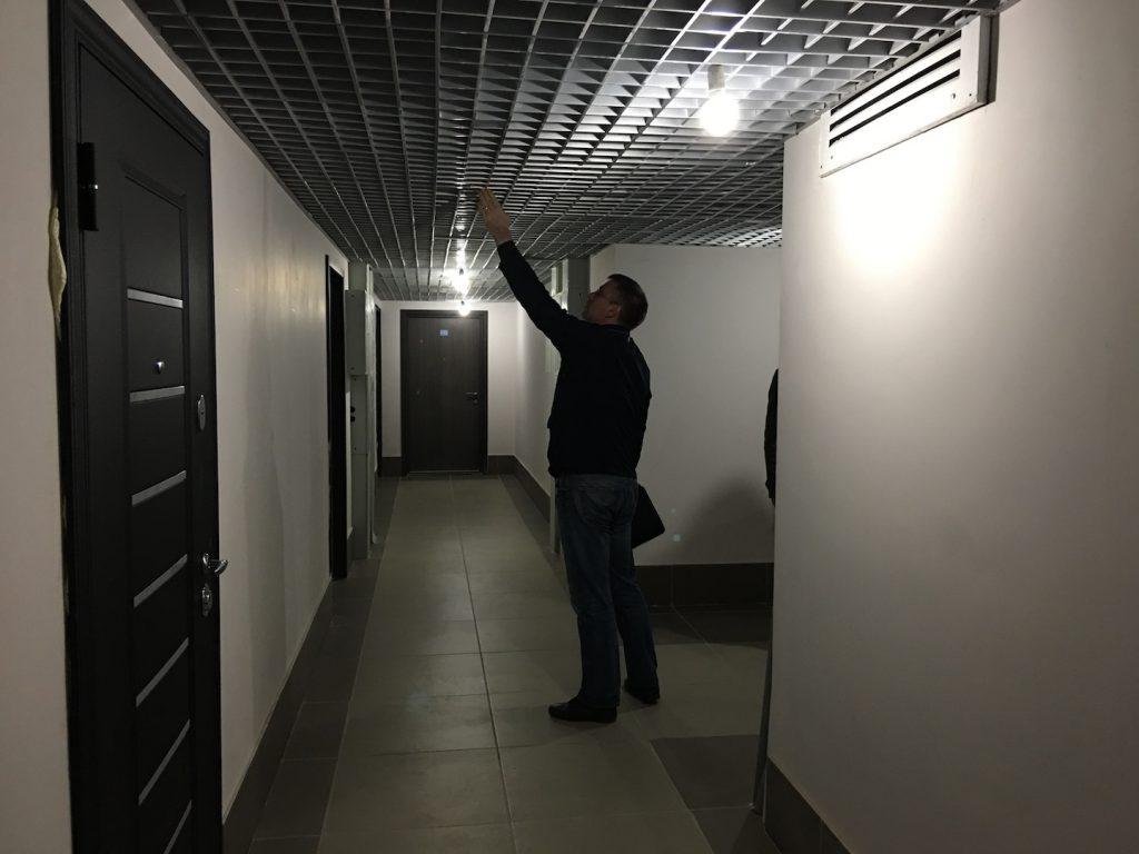"""Высота на последнем этаже ЖК """"Одинбург"""""""