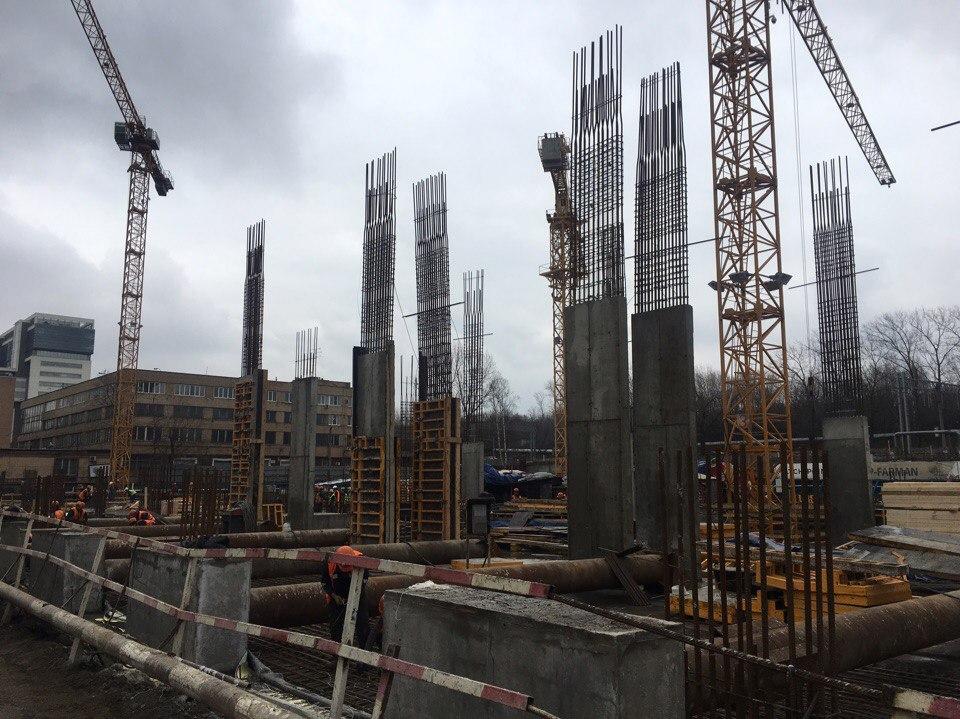строительство МФК Match Point