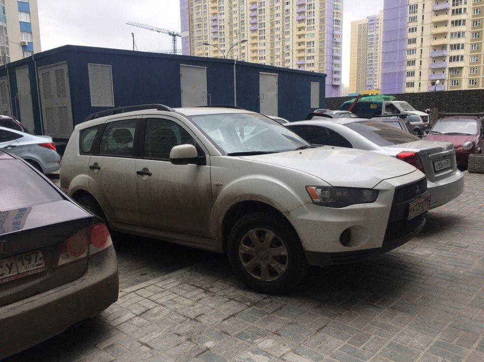 паркинг жк менделеев