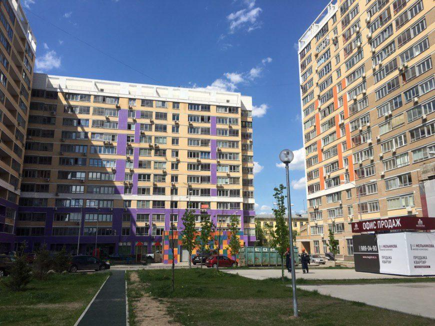 ЖК на улице Мельникова