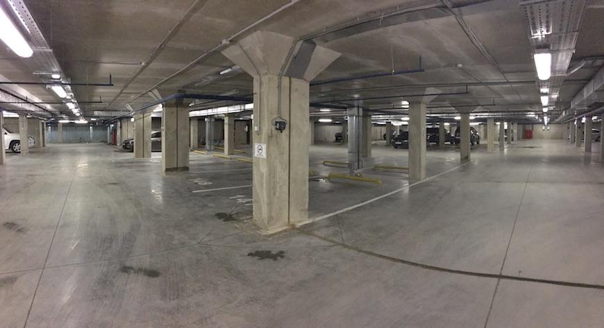 """Подземный паркинг ЖК """"Европейский"""""""