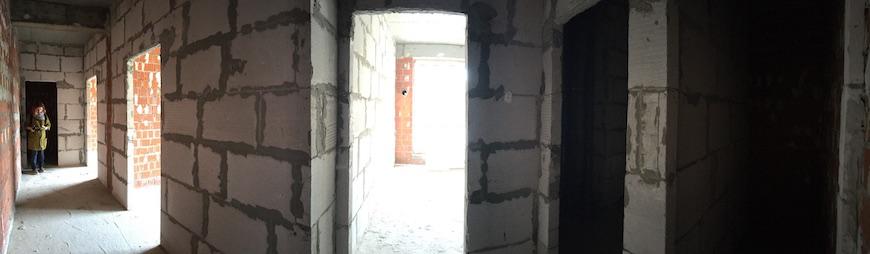 """Квартира без отделки в ЖК """"Андерсен"""""""