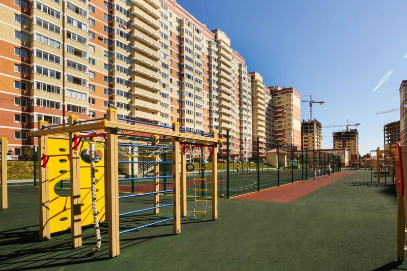 """Детские и спортивные площадки Микрорайона """"Богородский"""""""