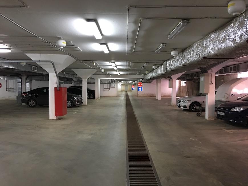 """Подземный паркинг в Микрорайоне """"Богородский"""""""