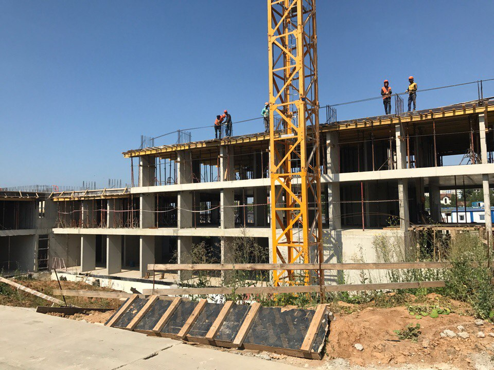 строительство жк первый квартал