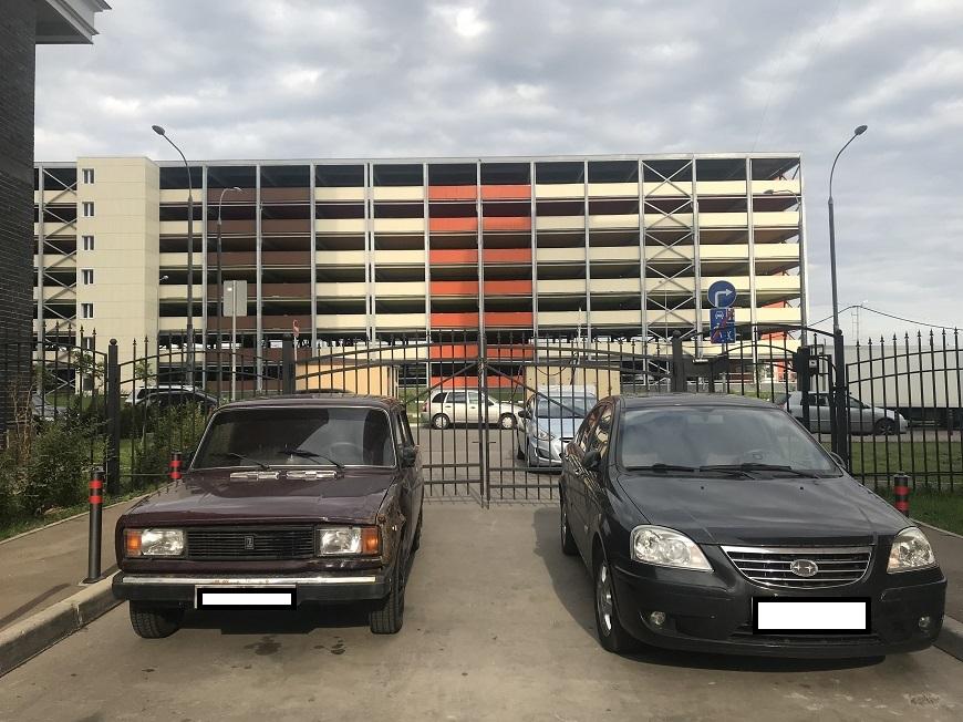 паркинг жк Москва а101