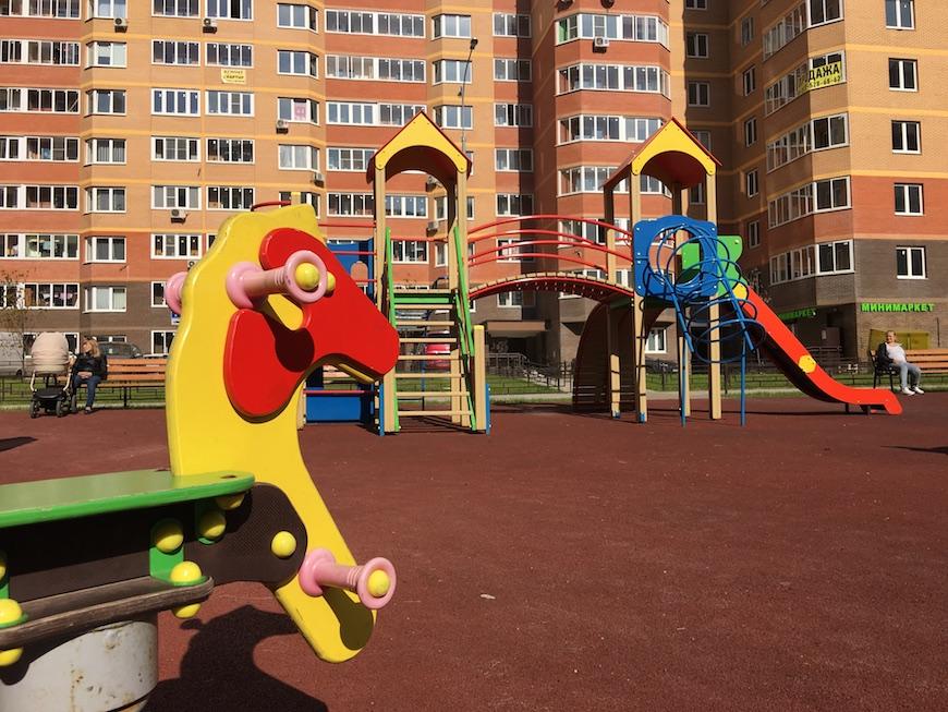 """Детские площадки ЖК """"Зеленые Аллеи"""""""